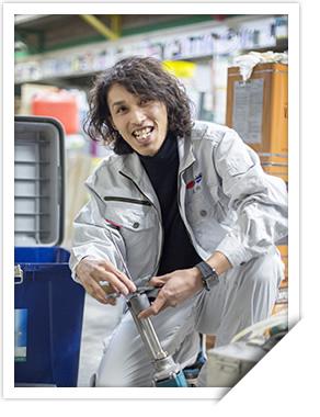 尾崎 翼 工事部 OZAKI TSUBASA プロとしていっそう成長を!