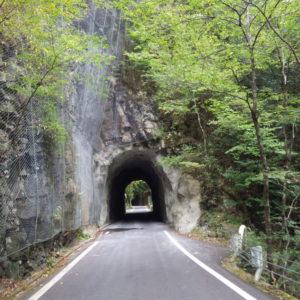 面河線関門第2トンネル補修