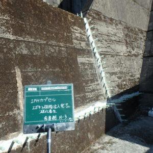 ダム導流壁左岸側補修業務