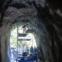IPH工法見学会(岩盤モルタル吹付けトンネル)