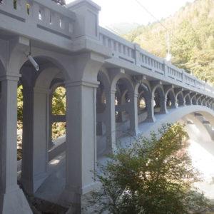橋梁RC アーチ橋(大宮橋)土木遺産